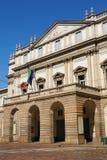 Teatro de Scala en Milano, Italia Imagen de archivo