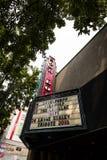 Teatro de Seattle ShowBox fotos de stock