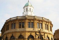 Teatro de Sheldonian em Oxford, Inglaterra imagens de stock