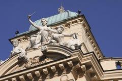 Teatro de Slowacki em Cracow Imagens de Stock Royalty Free