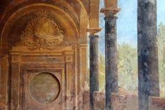 Teatro de Torlonia del chalet en Roma Imágenes de archivo libres de regalías