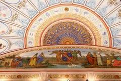 Teatro de Torlonia del chalet en Roma Imagen de archivo libre de regalías