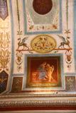 Teatro de Torlonia del chalet en Roma Fotografía de archivo