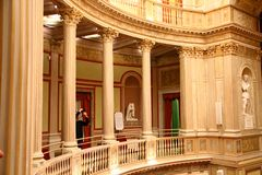 Teatro de Torlonia del chalet en Roma Fotos de archivo