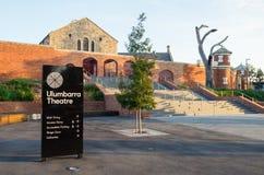 Teatro de Ulumbarra en la cárcel anterior de Bendigo fotografía de archivo