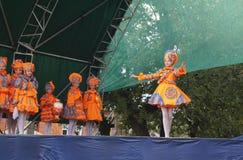 Teatro de Vyaznikovskiy do modo do bebê na cena no dia do ci Foto de Stock Royalty Free