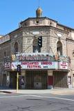 Teatro de Warnors, Fresno imágenes de archivo libres de regalías