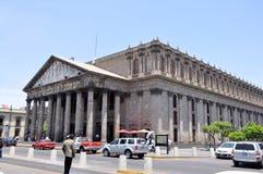 Teatro Degollado Guadalajara Messico Fotografie Stock Libere da Diritti