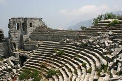 Teatro dei thermessos Fotografia Stock Libera da Diritti