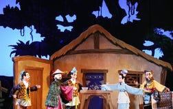 Teatro del burattino Fotografia Stock Libera da Diritti