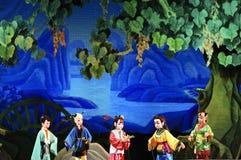 Teatro del burattino Fotografia Stock