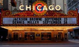 Teatro del Chicago Immagine Stock