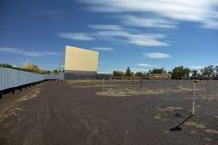 Teatro del drive-in Fotografia Stock