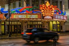Teatro del estado de Minneapolis Imagen de archivo libre de regalías