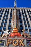 Teatro del Fox en Detroit Fotografía de archivo libre de regalías