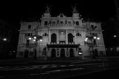 Teatro del Na Vinohradech de Divadlo Fotos de archivo libres de regalías