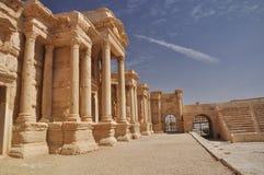 Teatro del Palmyra fotografía de archivo libre de regalías