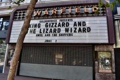 Teatro del ` s Warfield de San Francisco, 1 imagenes de archivo