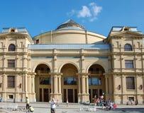 Teatro del teatro de variedades en St Petersburg Fotografía de archivo