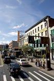 Teatro dell'Apollo e 125th via, Harlem Fotografie Stock Libere da Diritti