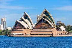 Teatro dell'opera da Kirribilli a Sydney, Australia Fotografie Stock Libere da Diritti