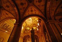 Teatro dell'Opera della condizione di Vienna Immagini Stock