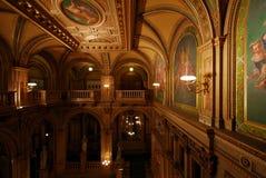 Teatro dell'Opera della condizione di Vienna immagine stock libera da diritti