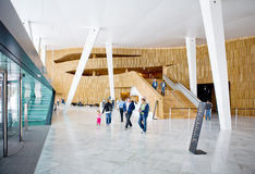 Teatro dell'Opera di Oslo fotografie stock