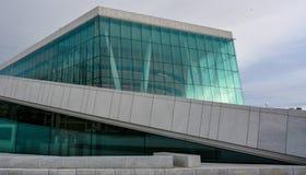 Teatro dell'opera di Oslo, Norvegia - un iceberg Immagini Stock