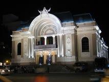 Teatro dell'opera di Saigon Immagine Stock Libera da Diritti