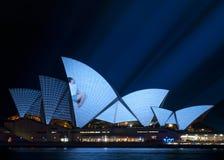 Teatro dell'Opera di Sydney Fotografia Stock Libera da Diritti
