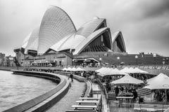 Teatro dell'Opera di Sydney, Australia Immagini Stock