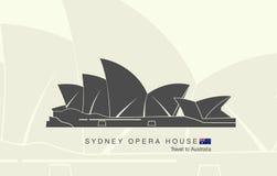 Teatro dell'Opera di Sydney in Australia Immagine Stock Libera da Diritti