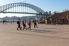 Teatro dell'opera di Sydney durante l'estate immagine stock
