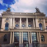 Teatro dell'opera di Zurigo fotografia stock
