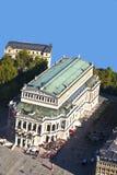 Teatro dell'opera famoso a Francoforte, Immagine Stock Libera da Diritti