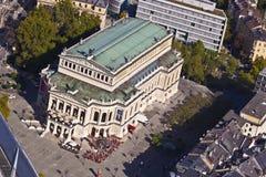 Teatro dell'opera famoso a Francoforte, Fotografia Stock Libera da Diritti