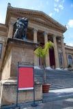 Teatro dell'Opera in Palermo.Sicily fotografia stock libera da diritti