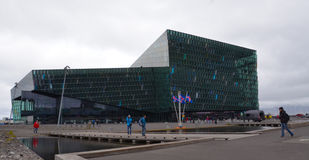 Teatro dell'opera, Reykjavik Immagine Stock