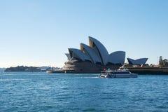 Teatro dell'opera Sydney Fotografia Stock