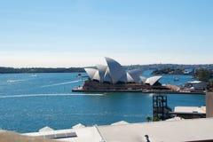 Teatro dell'opera Sydney Immagine Stock Libera da Diritti