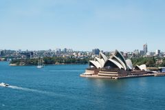 Teatro dell'opera Sydney Fotografie Stock