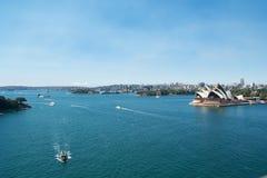 Teatro dell'opera Sydney Immagine Stock