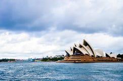 Teatro dell'opera in Sydney Australia Fotografia Stock Libera da Diritti