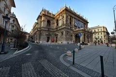 Teatro dell'opera ungherese dello stato Fotografia Stock