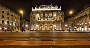 Teatro dell'opera ungherese dello stato Immagini Stock