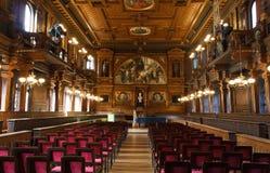 Teatro dell'università di Heidelberg Fotografia Stock