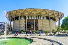 Teatro della città di Teheran immagine stock