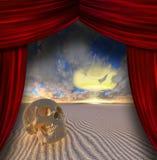 Teatro della guerra illustrazione vettoriale