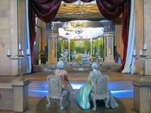 Teatro della marionetta Fotografia Stock